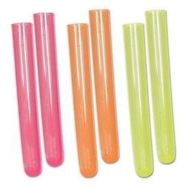 Test Tube Shots-Neon Colors-6pkg-1oz