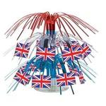"Centerpiece-Mini Cascade-British Flag-1pkg-7.5"""