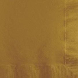 Napkins-BEV-Glittering Gold-50pkg-2ply