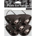 Eye Patches - Pirate Buried Treasure - 5pkg