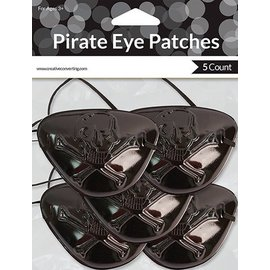 Eye Patches-Pirate Buried Treasure-5pkg