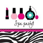 Napkins-LN- Pink Zebra-16pk-3ply- Final Sale