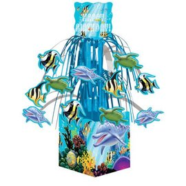 Centerpiece-Cascade-Ocean Party-1pkg-8.5""