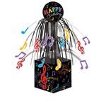 "Centerpiece-Foil Cascade-Dancing Musical Notes-1pkg-8.5"""