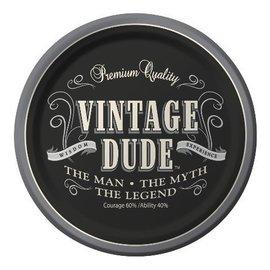 Beverage Plates-Vintage Dude-Discontinued