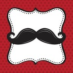 Napkins-BEV-Mustache Madness-16pkg-3ply - Discontinued