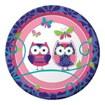 Plates-BEV-Owl Pal-8pkg-Paper