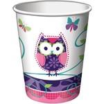Paper Cups-Owl Pal-8pkg-9oz