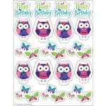 Stickers-Owl Pal-4 Sheets