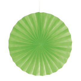 """Paper Fan-Lime Green-1pkg-16"""""""