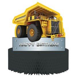 "Centerpiece-Honeycomb-Construction Zone-1pkg-11.75"""