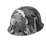 Hats-Grey Army Camouflage-1pkg-Plastic