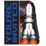 Invitations-Space Blast-8pkg