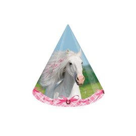 Hats-Cone-Heart My Horse-8pkg-Paper