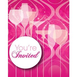 Invitations-Fabulous Birthday-8pkg