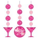 "Hanging Cutouts-Fabulous Birthday-3pkg-36"""