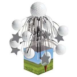 Centerpiece-Foil Cascade-Golf Fanatic-1pkg-12.5""