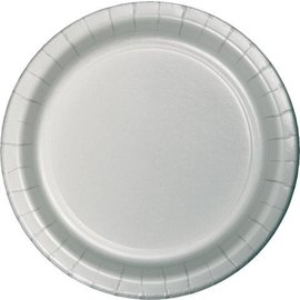 Plates-LN-Shimmering Silver-24ct-Paper
