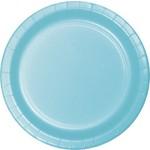 Plates-BEV-Pastel Blue-24pkg-Paper