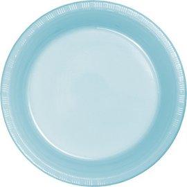 Plates-LN-Pastel Blue-24pkg-Paper