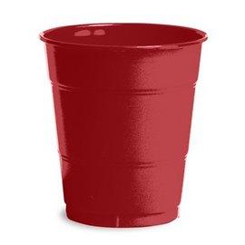 Plastic Cups-Burgundy Royale-20pkg-12oz