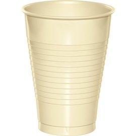 Plastic Cups-Ivory-20pkg-12oz