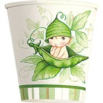 Paper Cups-Sweet Pea-8pkg-9oz - Discontinued