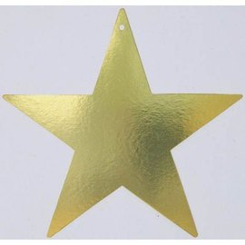 Cutout-Gold Star-Foil-15''