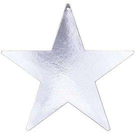 Cutouts-Star-Silver-5''-Foil