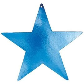 Cutouts-Star-Blue-5''-Foil