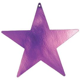 Cutouts-Star-Purple-9''-Foil