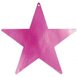 Cutouts-Star-Magenta-9''-Foil