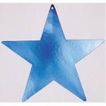 Cutouts-Star-Blue-15''-Foil