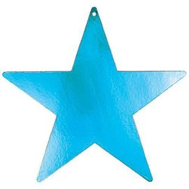 Cutouts-Star-Turquoise-15''-Foil