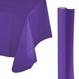 Tablecover Roll-Purple-100Ft-Plastic