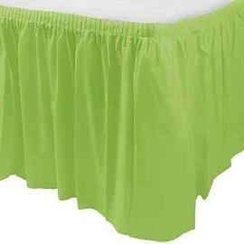 Table Skirt-Rectangular-Kiwi-Plastic - Discontinued