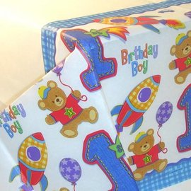 Table Cover-Hugs & stitches-Paper-54'' x 102''