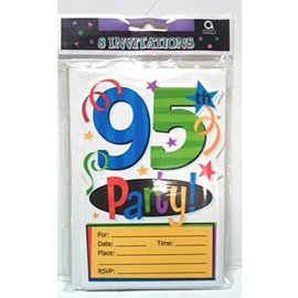 invitations-95th hbd-8pk
