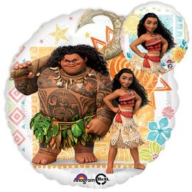 Foil Balloon-Moana Double Sided 17""