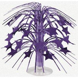 Centerpiece-Cascade-Purple Stars-8.5''