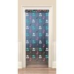 Doorway Curtain-50's Rock-1.98m
