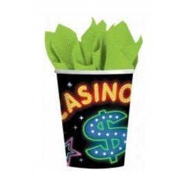 Cups-Casino-Paper-9oz-8pk -Paper-Discontinued