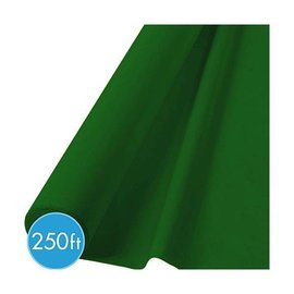 Tablecover Roll-Festive Green-250Ft-Plastic