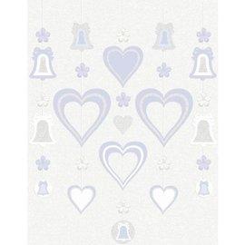 Danglers-Bridal-Lavender Love-w/Glitter -5pk