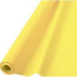 Tablecover Roll-Light Yellow-100Ft-Plastic