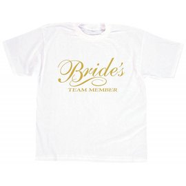 T-Shirt-Bride's Team Member-1pkg-Adult XL