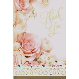 Thank You Cards-Dazzling Shower-8pk