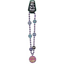 Bead Necklace-60th Bday-30''