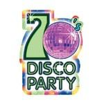 Invitations- 70's Disco-8pk