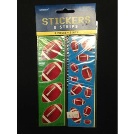 Stickers-Football (8 sheets)
